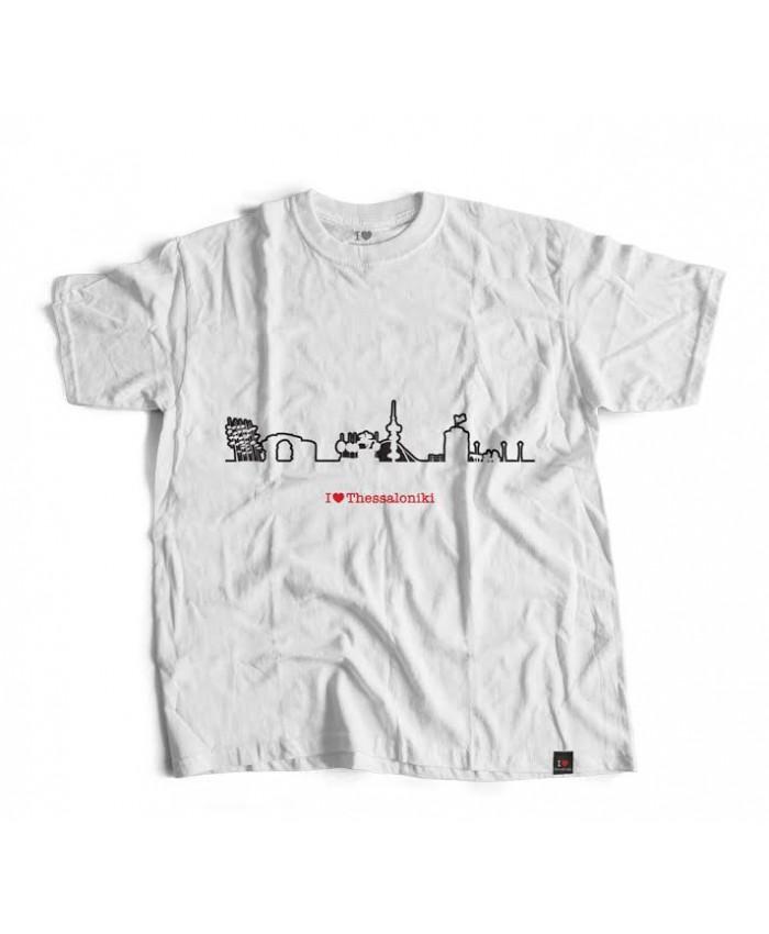 T-shirt Μνημεία White
