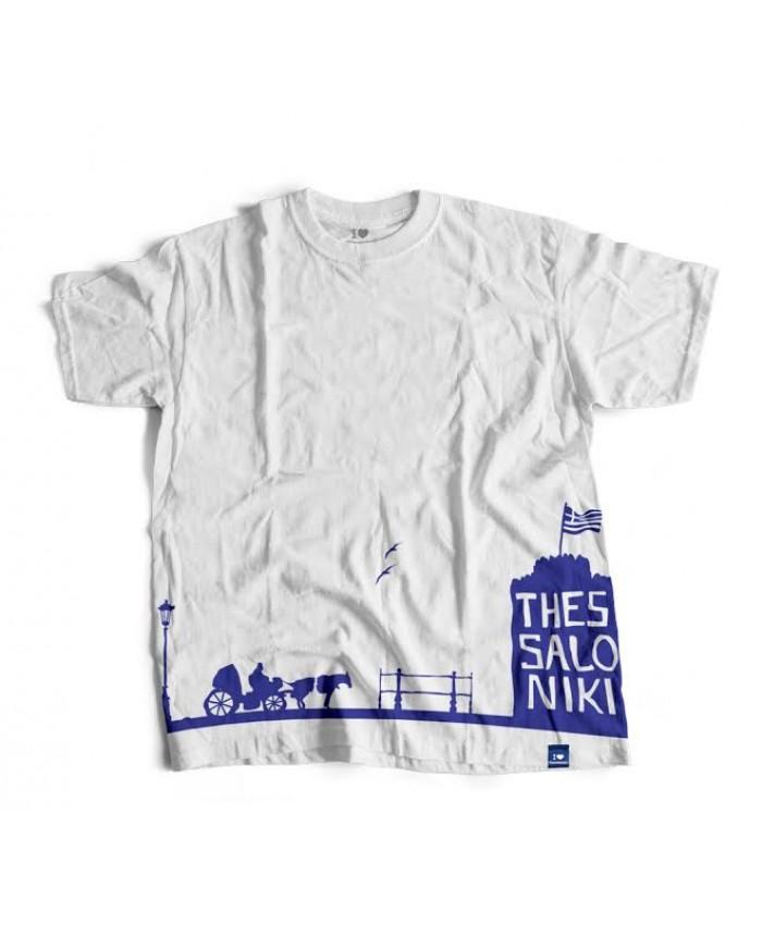 T-shirt Καροτσιέρης White