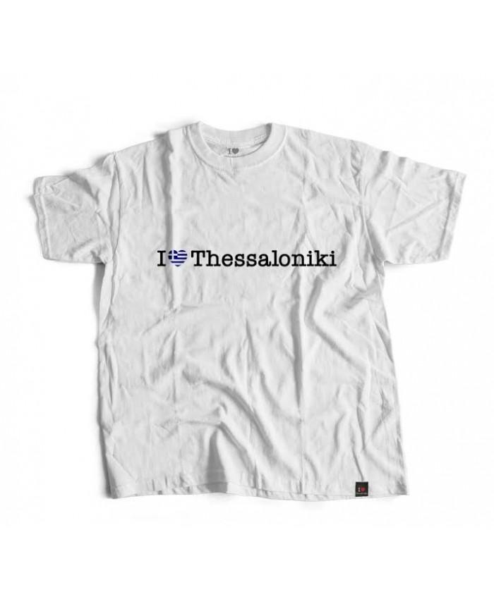 T-shirt Ελληνική Καρδιά White
