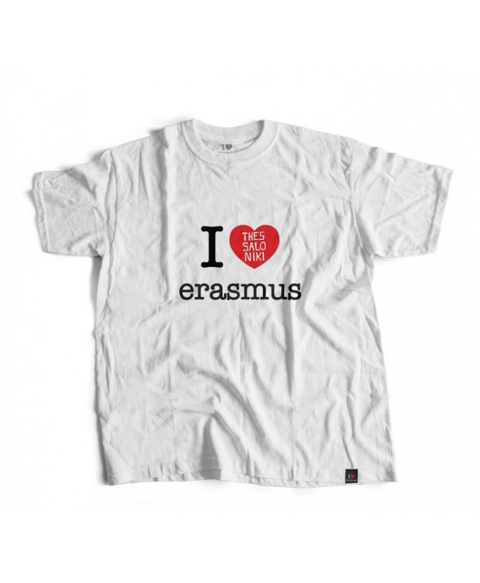 T-shirt Erasmus White