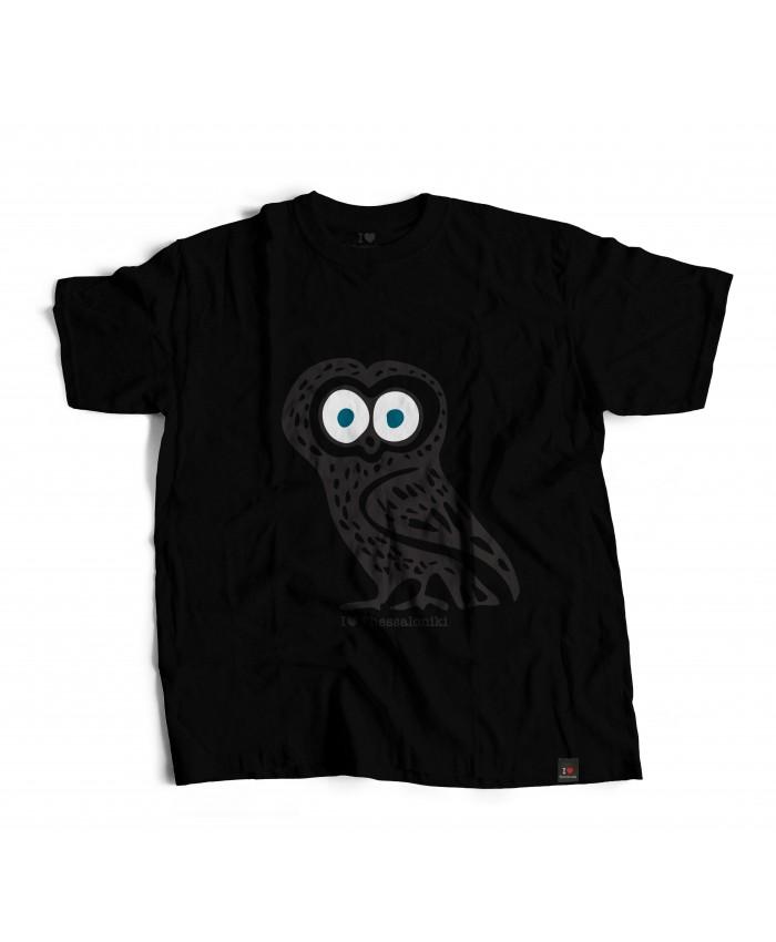 T-shirt Κούκου Black