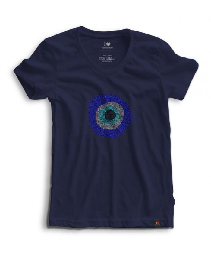 T-shirt Strass Ble Mati