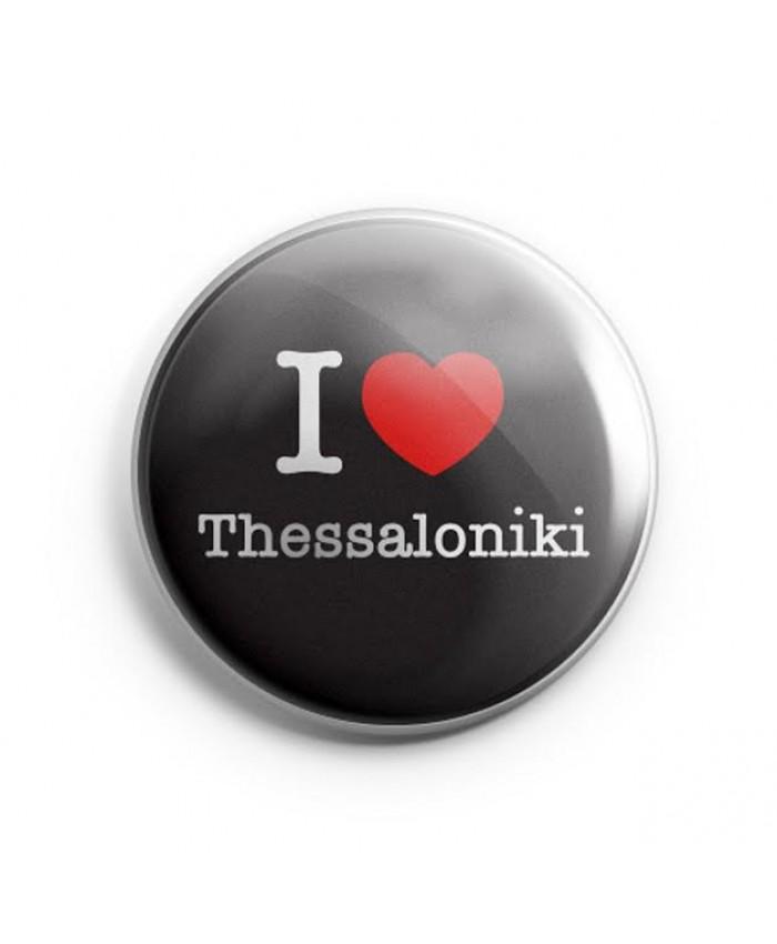 Μαγνήτης I Love Thessaloniki Black