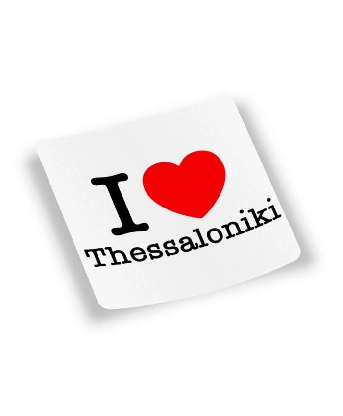 Αυτοκόλλητο I Love Thessaloniki