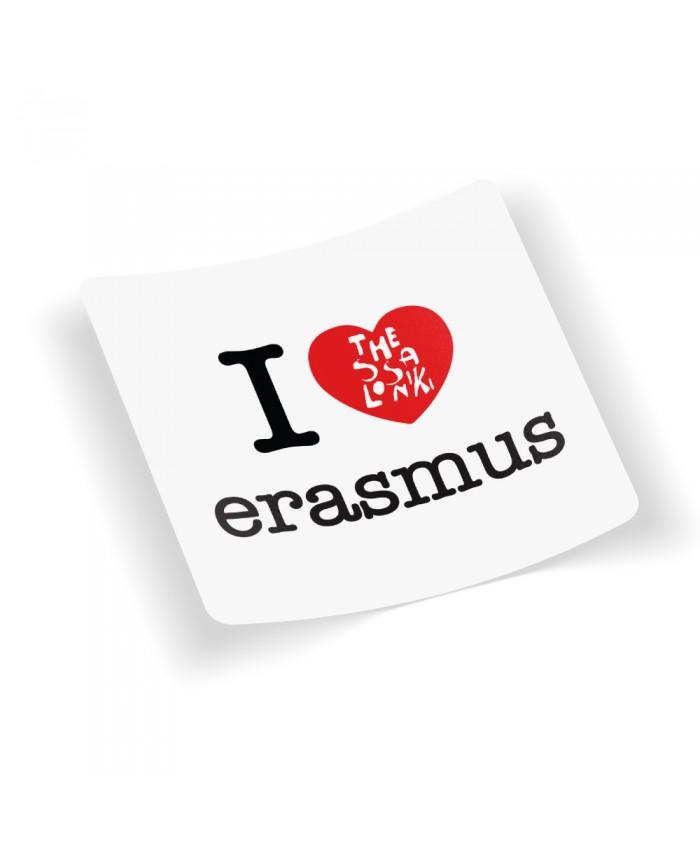 Αυτοκόλλητο Erasmus