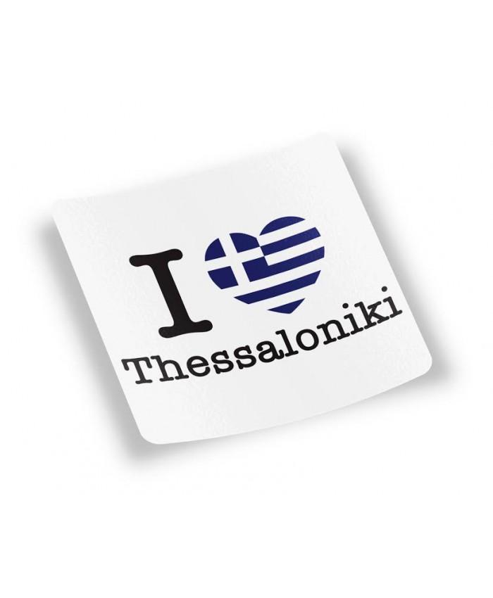 Αυτοκόλλητο Ελληνική Καρδιά